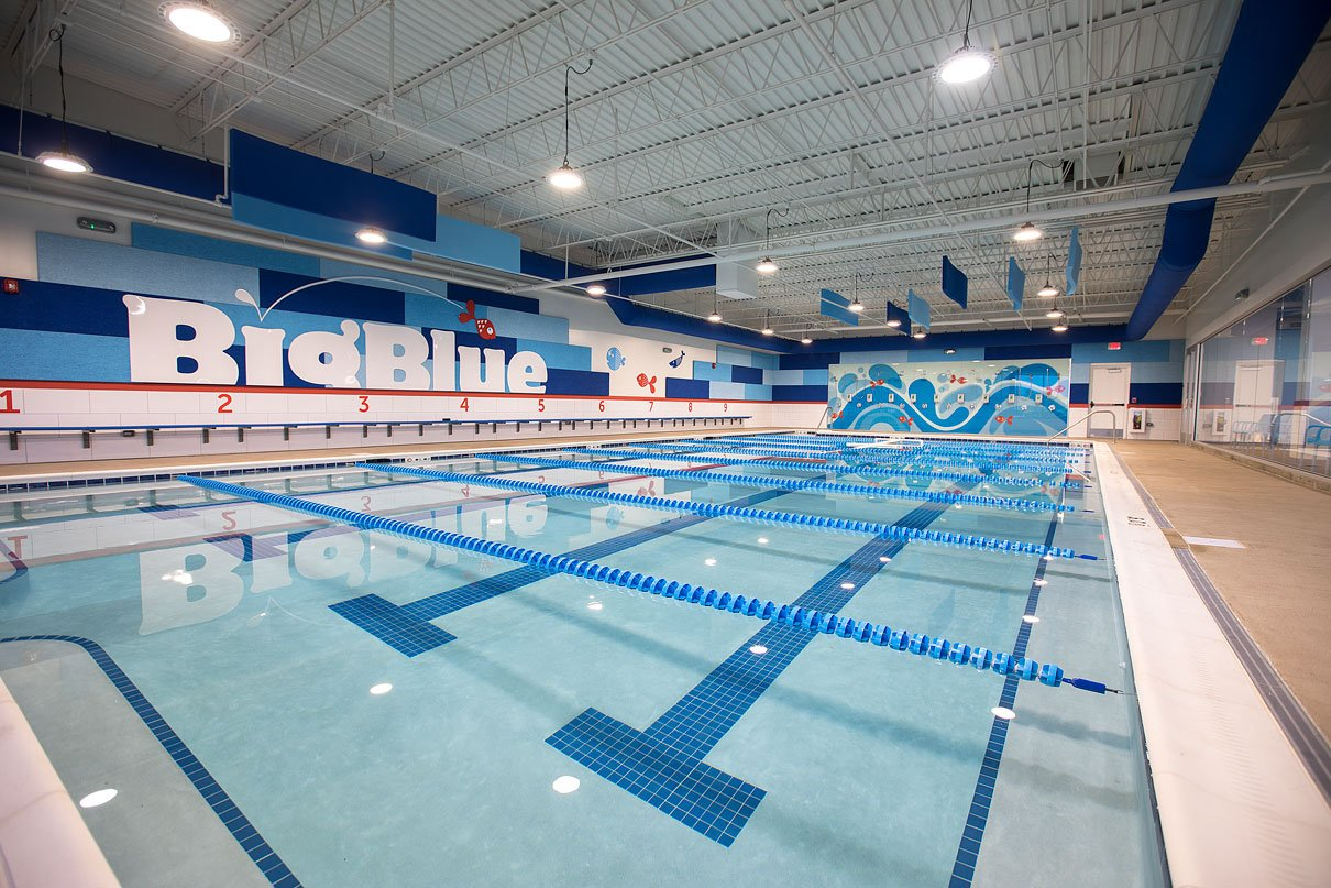 ARCO/Murray Completes Building Conversion for Big Blue Swim ...