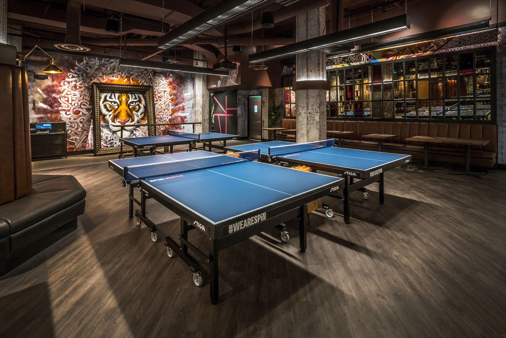 Arco Murray Completes Ping Pong Social Club For Spin