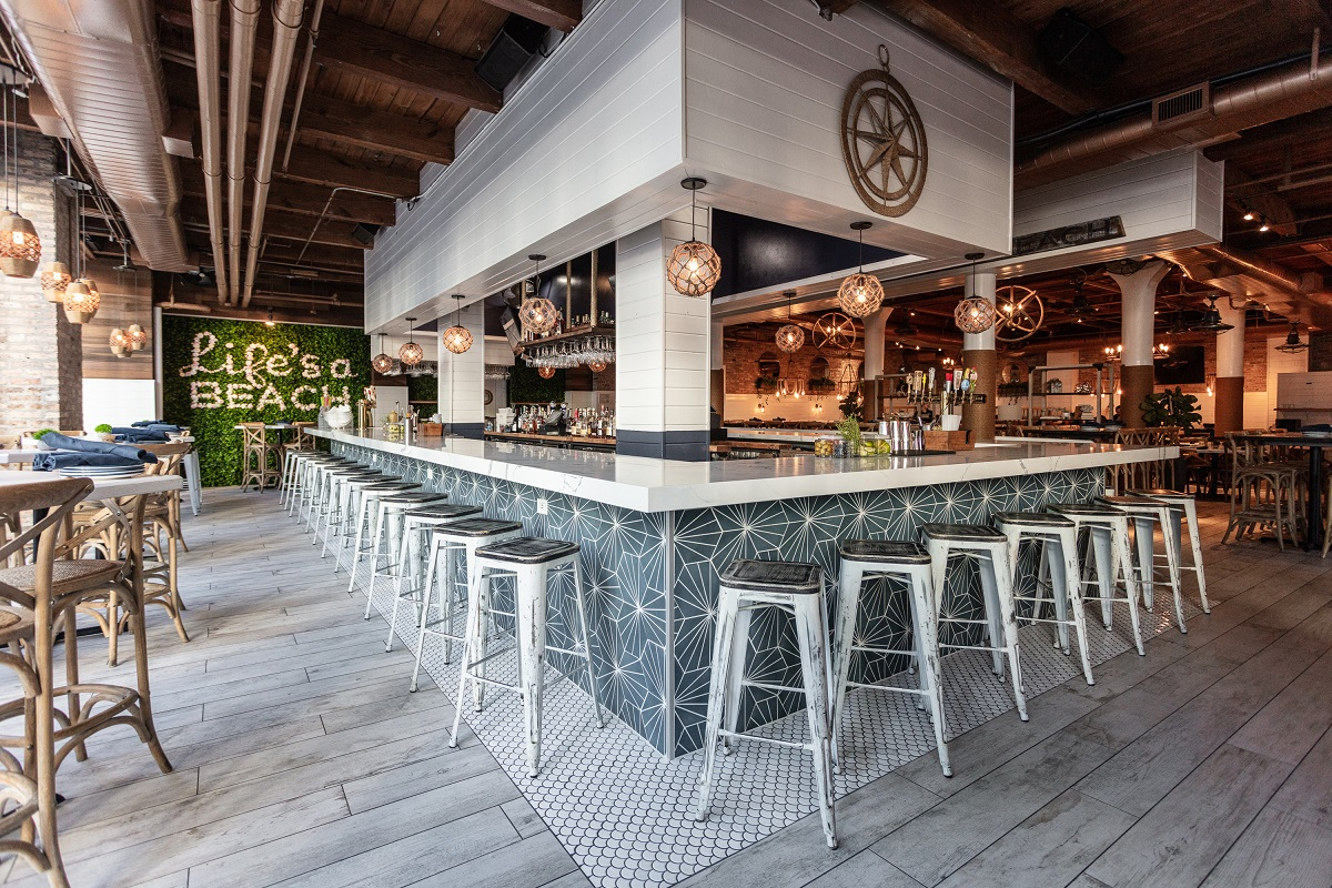 ARCO/Murray Entertainment Interiors Project: Hampton Social Bar Area
