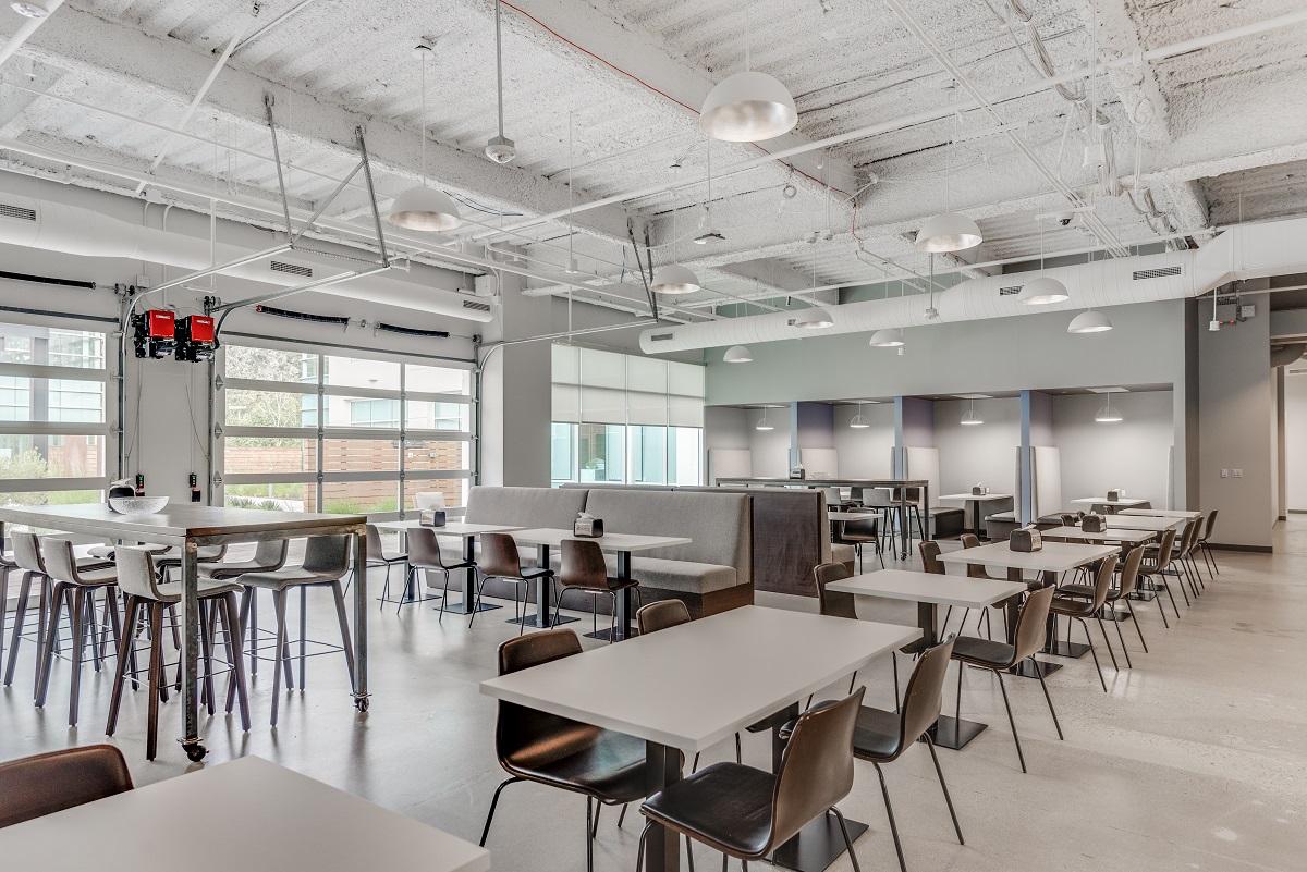 ARCO/Murray Office Project: Arlo Break Area