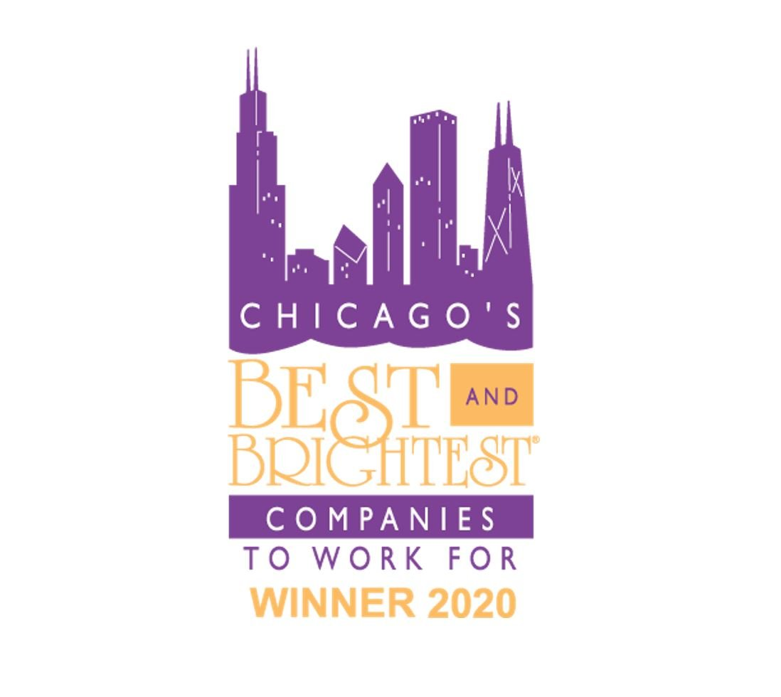 One of Chicago's Best and Brightest Companies to Work For® in 2020