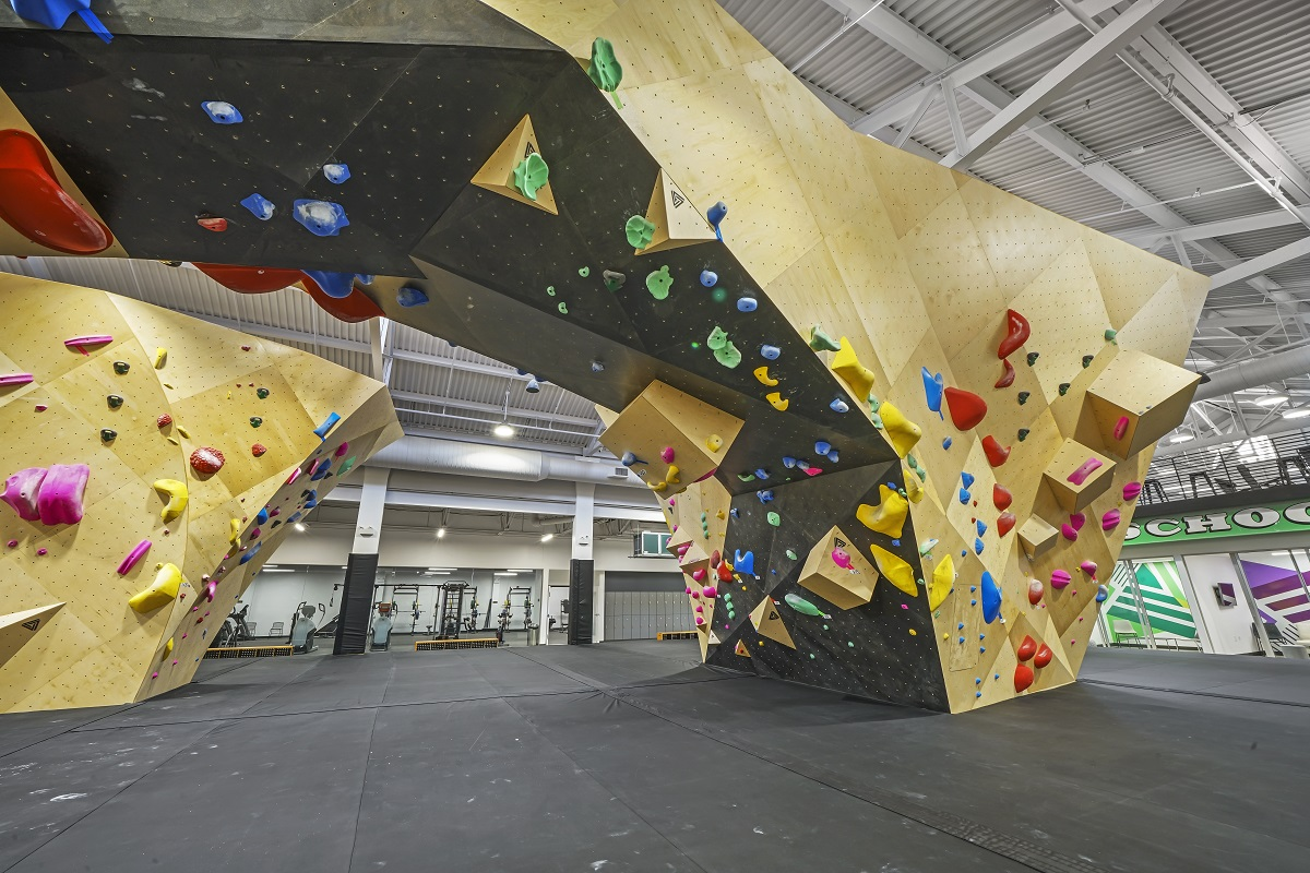 Adaptive Reuse Spotlight: From Grocery Store to Indoor Rock Climbing & Fitness Facility
