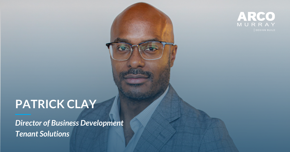 Hiring of Patrick Clay Adds to ARCO/Murray's Design-Build Breadth and Continued Expansion