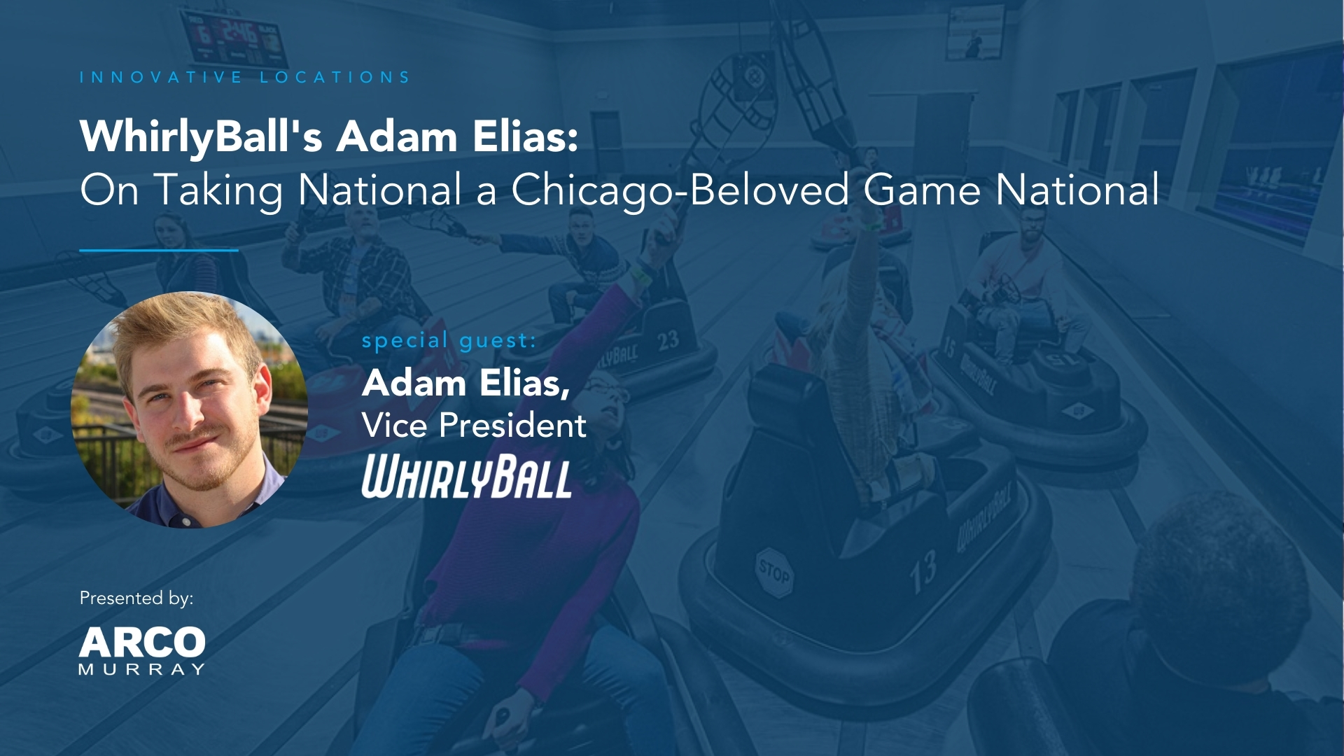 Innovative Locations: WhirlyBall's Adam Elias on Taking National a Game that Crosses Bumper Cars, Lacrosse and Basketball