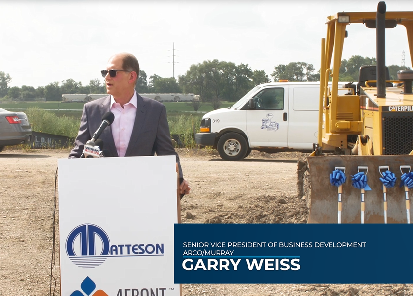 Illinois' Largest Cannabis Cultivation and Production Facility Breaks Ground in the Village of Matteson.