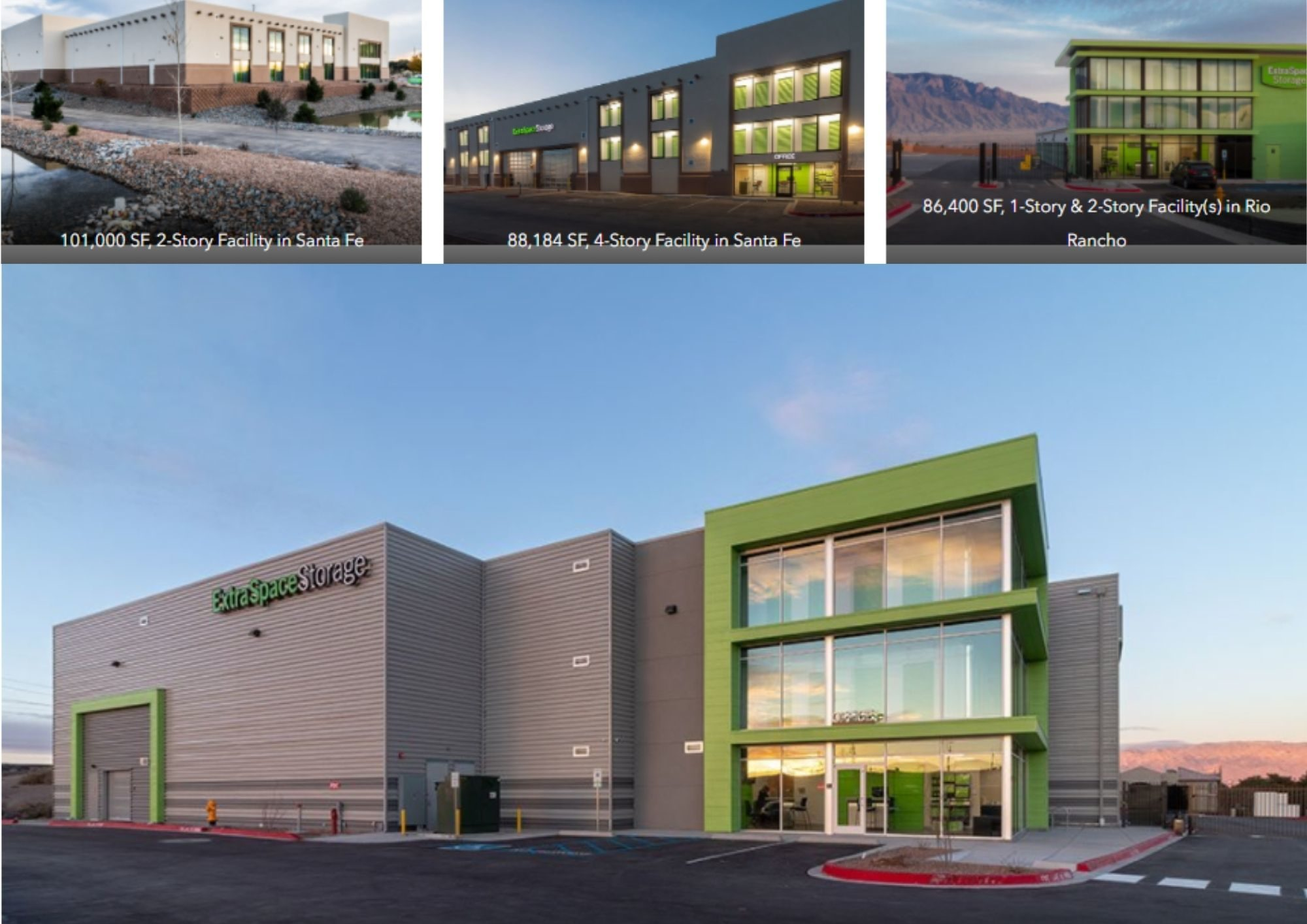 4 Newly Constructed Self Storage Facilities in New Mexico